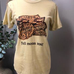 Tops - Vintage Charlie Daniels Band concert Tee shirt